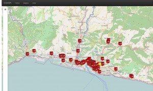 La mappatura degli hotspot con Wifi gratuito a Genova
