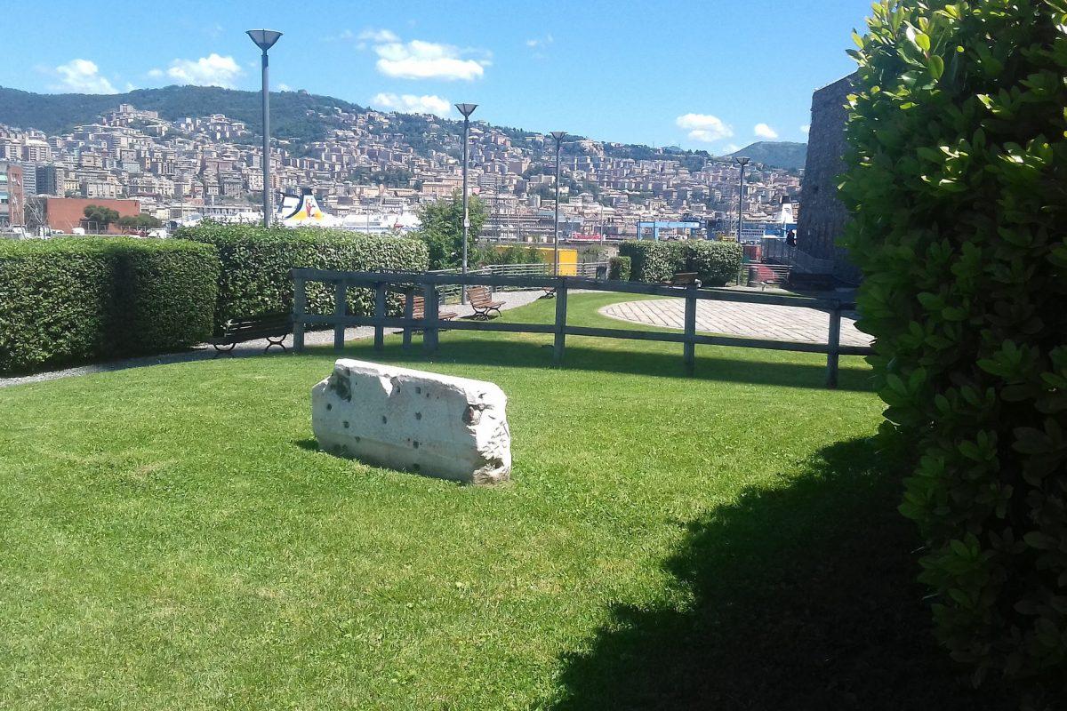 La seconda area Free Wifi: il parco